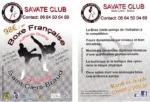 c'est la rentrée pour le Savate Club de Saint Ciers - Braud
