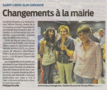 CHANGEMENTS A LA MAIRIE .....