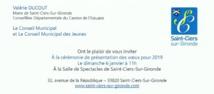 invitation aux voeux