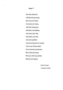 Printemps des poètes 2019