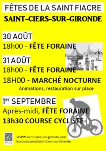 Fête foraine de la Saint-Fiacre 2019