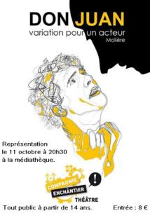 Don Juan, variation pour un acteur