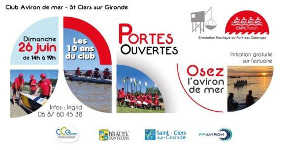 Portes ouvertes Club Aviron de Mer