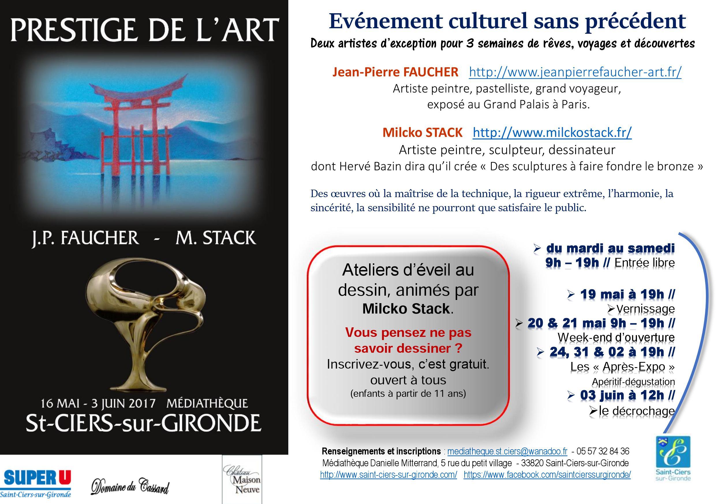 """""""Prestige de l'Art"""""""