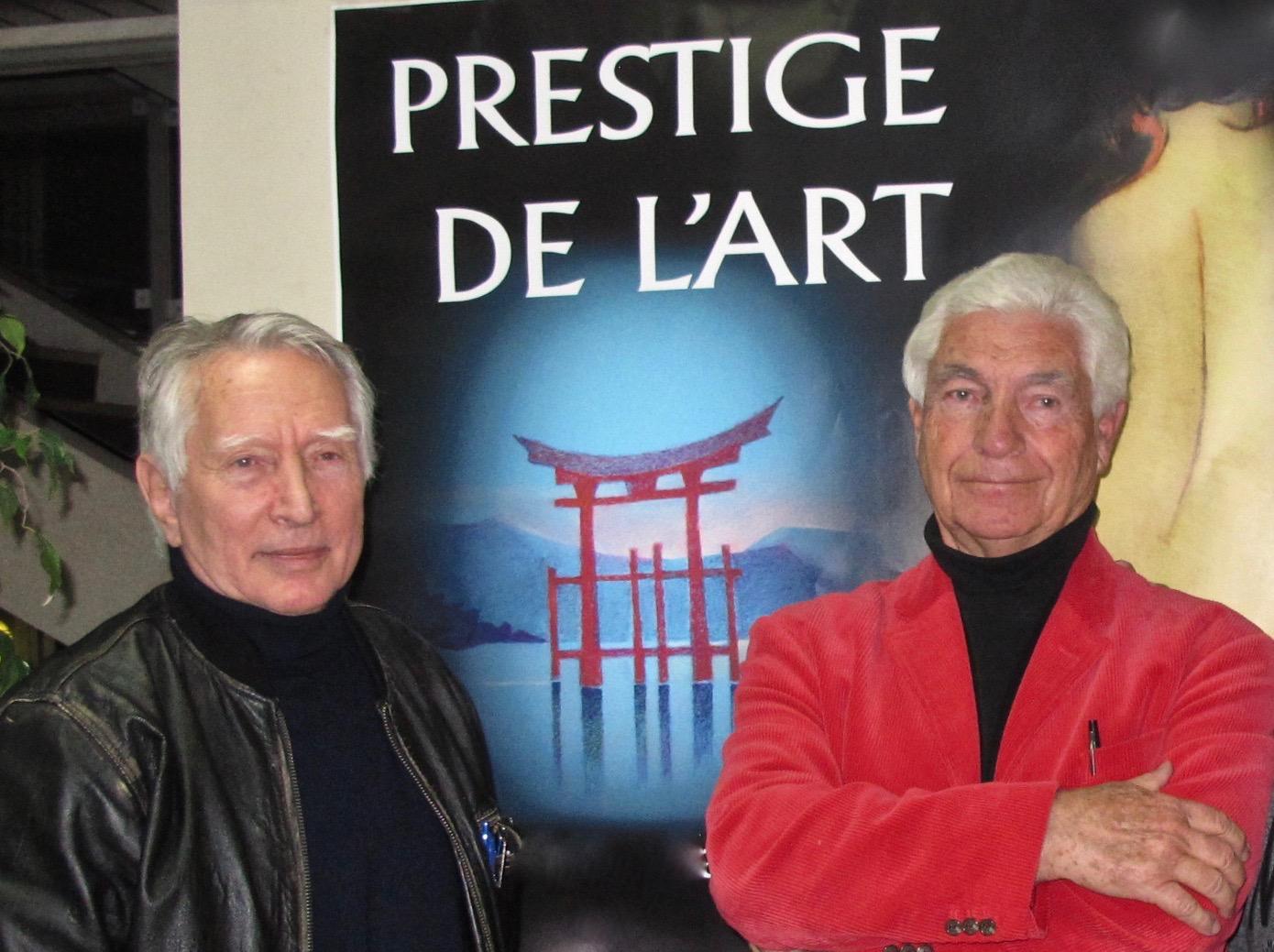 Milcko Stack et Jean-Pierre Faucher