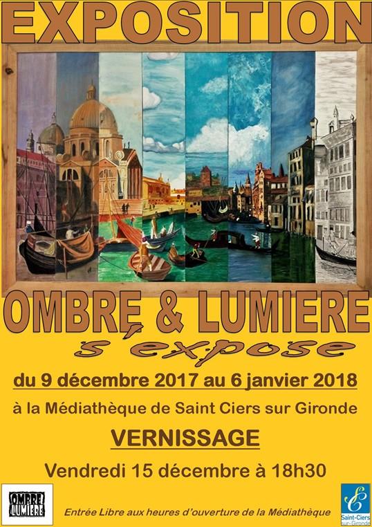 """Exposition """"Ombre et Lumière s'expose"""""""