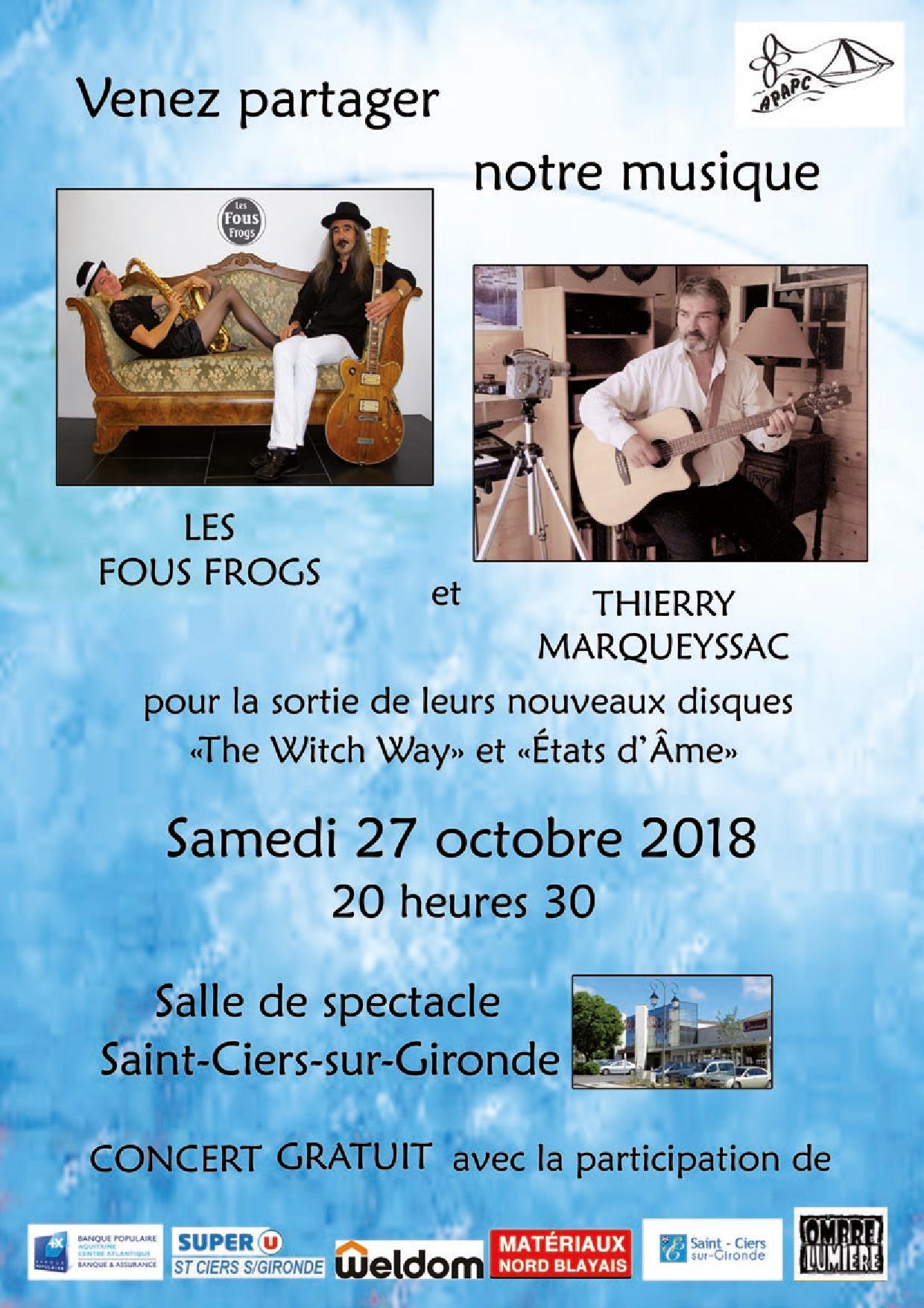 concert 27 Octobre 2018