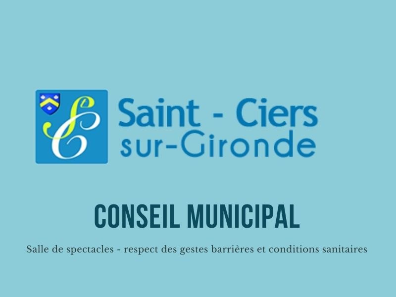 Conseil municipal - 29 avril 2021 - 18 h