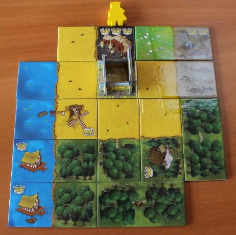 Retour sur la découverte du jeu Kingdomino à la médiathèque