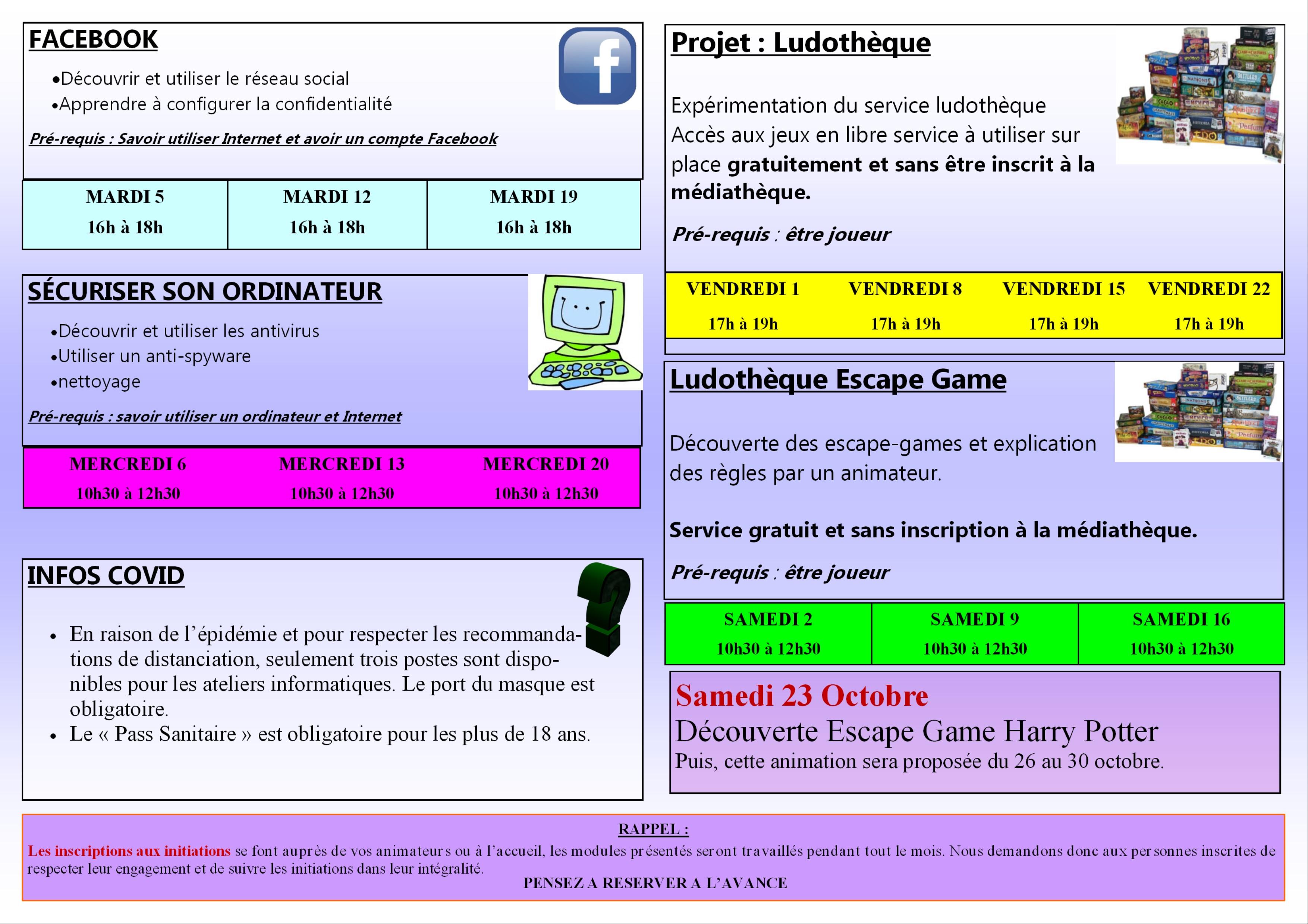 Programme Mai 2015