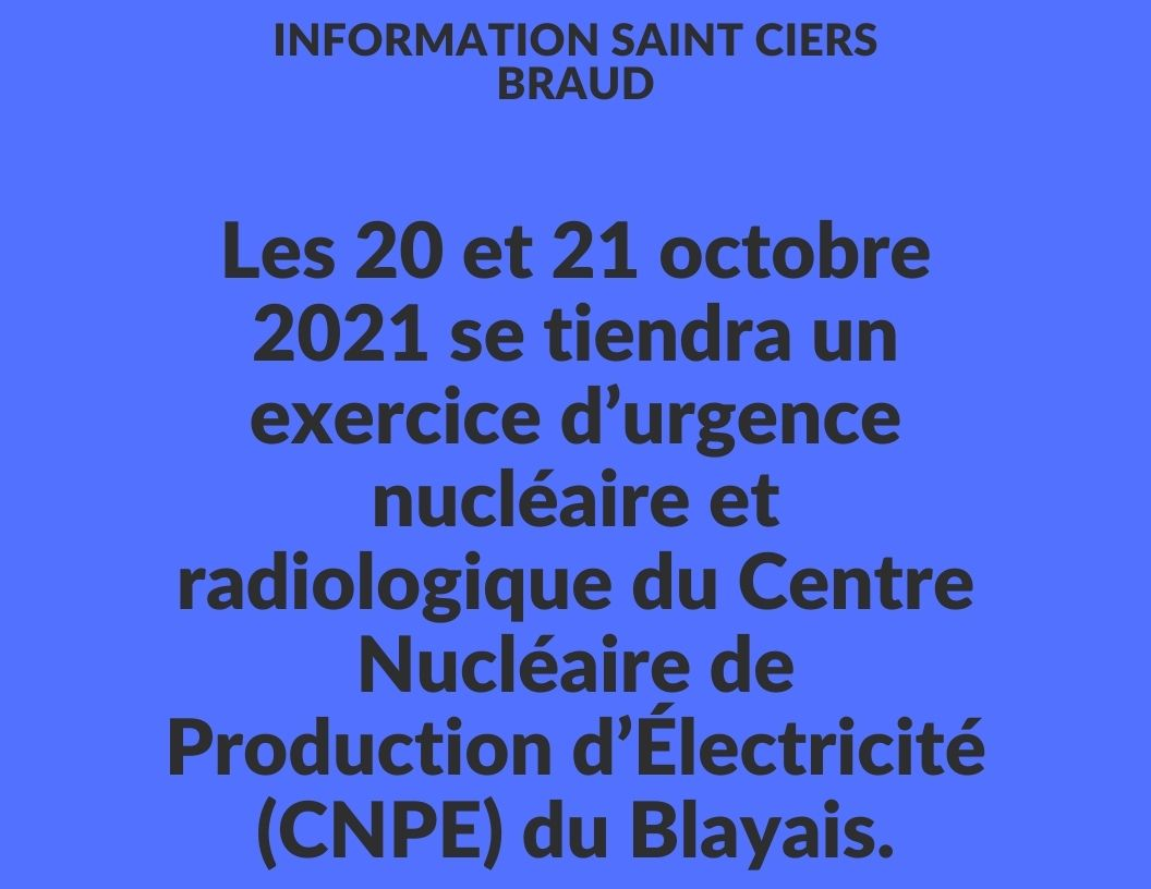 Exercice nucléaire