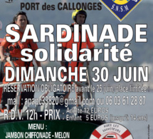 Sardinade solidiarité