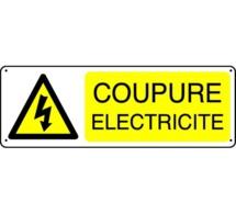 Coupure d'électricité pour travaux
